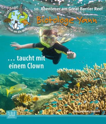 Agnes-Gramming-Steinland-Biotologe-Yann-taucht-mit-Clown-Great-Barrier-Reaf