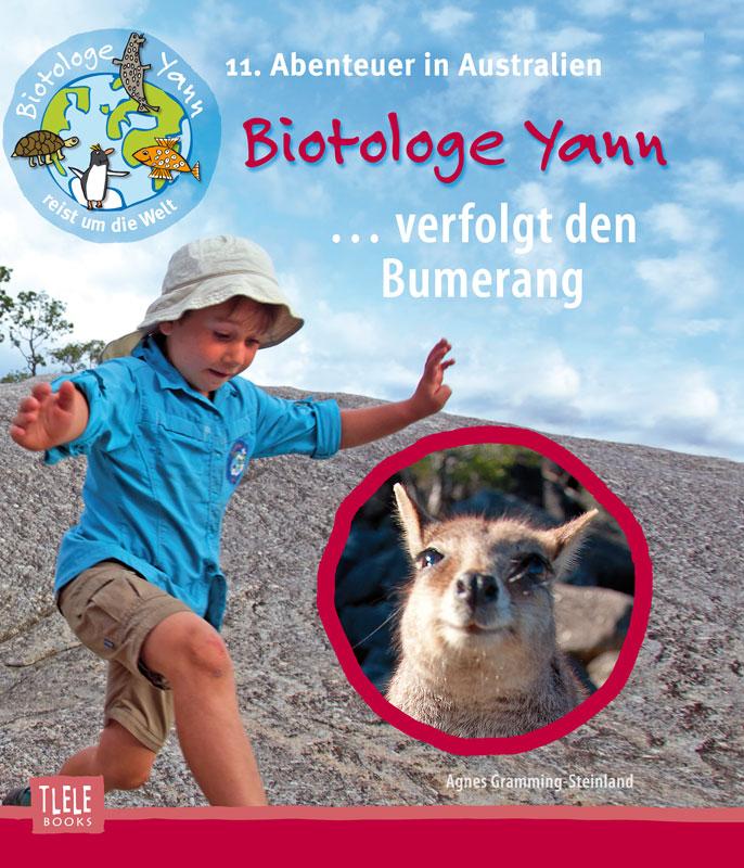 Agnes-Gramming-Steinland-Biotologe-Yann-verfolgt-Bumerang-Australien