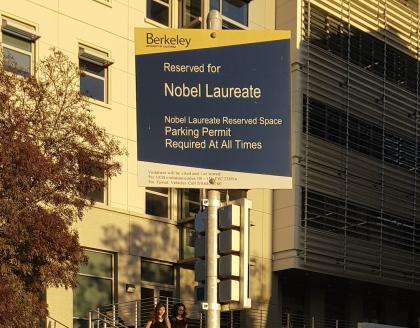 Nobel-Parkplatz-Berkeley