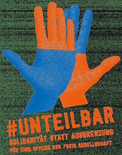 Webseite des Bündnisses #unteilbar